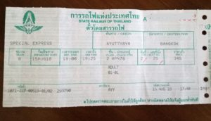 travel-thailand-bangkok-ayutthaya-railway-ticket